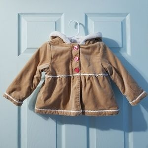 •gymboree gingerbread man jacket 2T•
